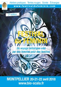 Affiche Festifem Montpellier 2018